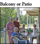 Balcony or Covered Patio